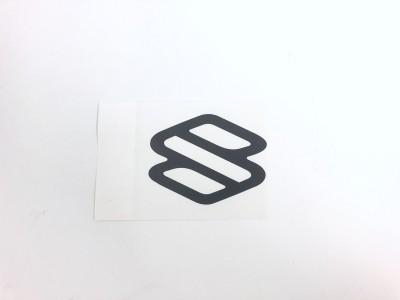 Autocollant logo SUZUKI - charcoal