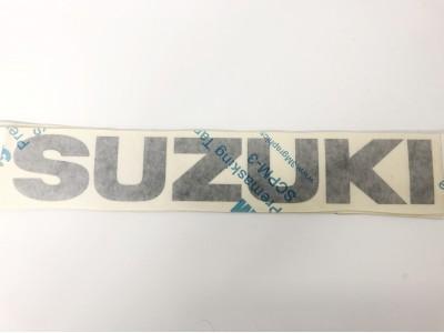 Autocollant SUZUKI - charcoal