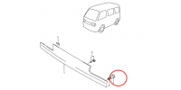 Poignée de retenue de calandre - Suzuki Carry 1991 à 1998