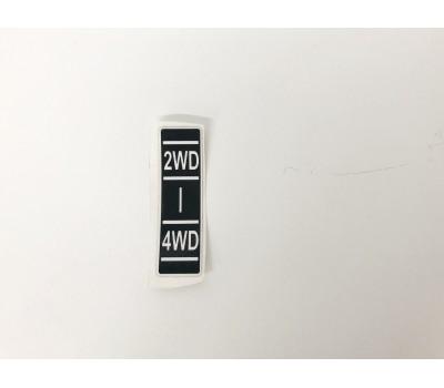 Sticker 2WD - 4WD
