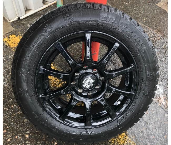 Ensemble roue et pneu 14 pouces - NOIR